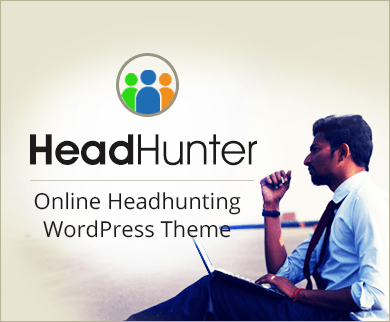 HeadHunter - Online Headhunting WordPress Theme