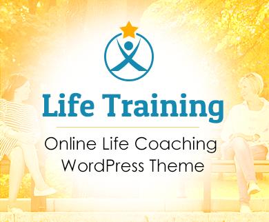 Life Training - Online Life Coaching WordPress Theme