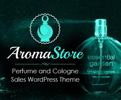 AromaStore - Perfume And Cologne Sales WordPress Theme