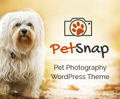 PetSnap - Pet Photography WordPress Theme