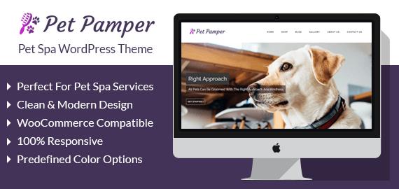 Pet Spa WordPress Theme