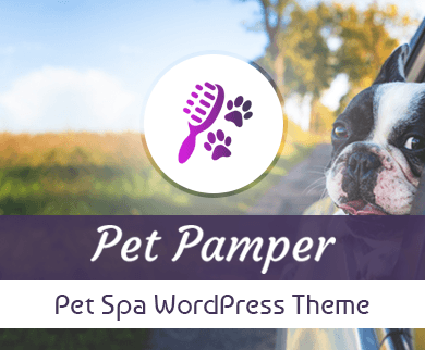 PetPamper - Pet Spa WordPress Theme