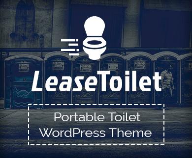 LeaseToilet - Portable Toilet WordPress theme