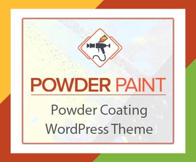 PowderPaint - Powder Coating WordPress Theme