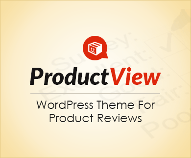 ProductView - Products Review WordPress Theme