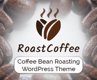 RoastCoffee - Coffee Bean Roasting WordPress Theme