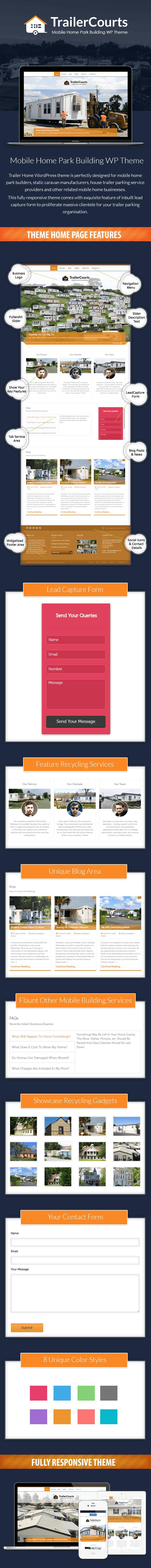 TrailerCourts WordPress Theme Sales Page