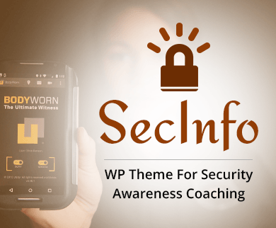 SecInfo - Security Awareness Coaching WordPress Theme