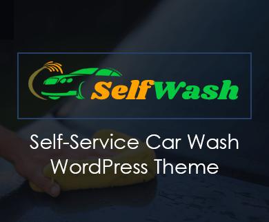 SelfWash - Self Car Wash WordPress Theme