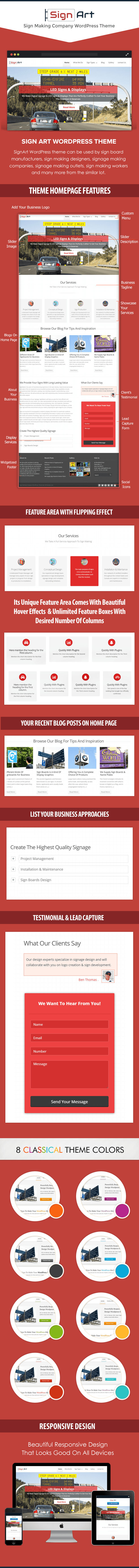 Sign Making Company WP Theme