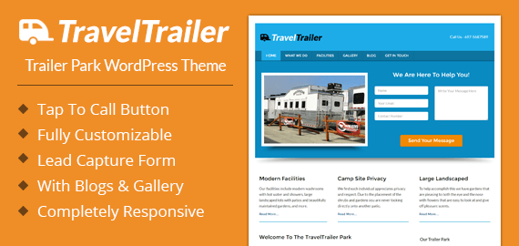Trailer Park WordPress Theme