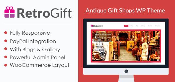 Antique Gift Shop WordPress Theme