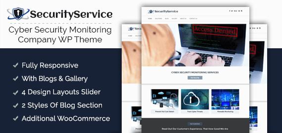 Cyber Security Service WordPress Theme [Free Install] | InkThemes