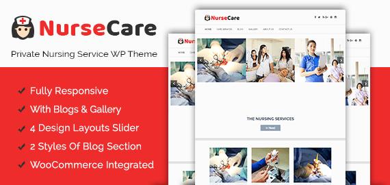 Private Nursing Service WordPress Theme