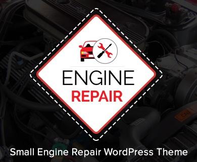 EngineRepair - Small Engine Repair WordPress Theme