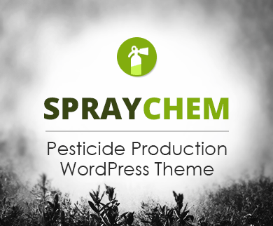 SprayChem - Pesticide Production Agency WordPress Theme