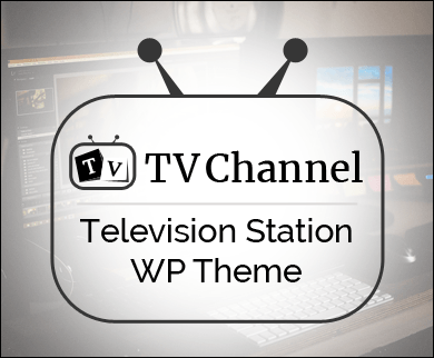 TVChannel - Television Station WordPress Theme