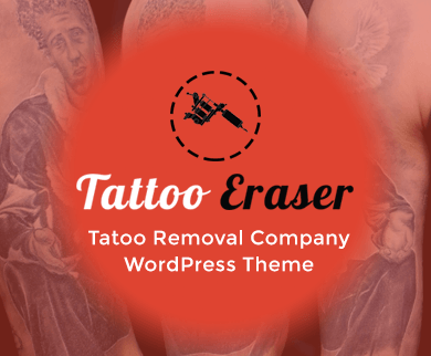 TattooErazer - Tattoo Removal Company WordPress Theme