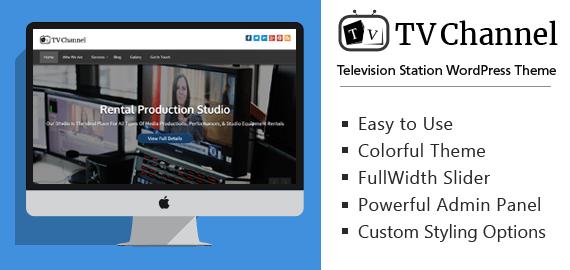 Television Station WordPress Theme | InkThemes