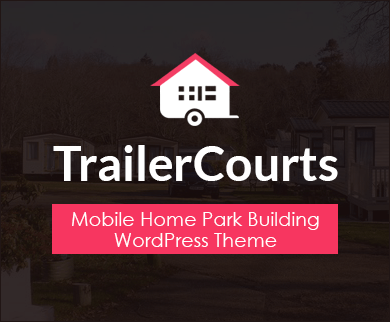 TrailerCourts - Mobile Home Park Building WordPress Theme