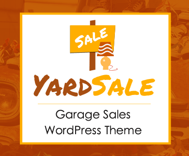 Yard Sale - Garage Sales WordPress Theme