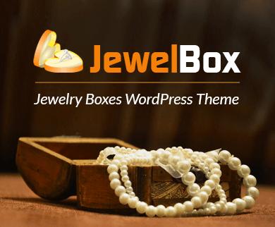 Jewel Box - Jewelry Boxes WordPress Theme & Template