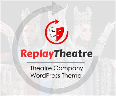 ReplayTheatre - Theatre Company WordPress Theme