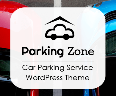 ParkingZone - Car Parking Service WordPress Theme