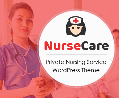 NurseCare - Private Nursing Service WordPress Theme