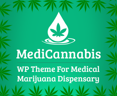 Medi Cannabis - Medical Marijuana Dispensary WordPress Theme