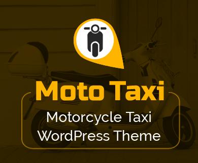 MotoTaxi - Motorcycle Taxi WordPress Theme