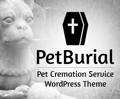 PetBurial - Pet Cremation Service WordPress Theme