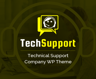 TechSupport - Technical Support Company WordPress Theme