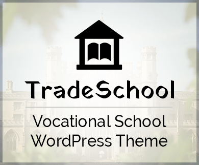 TradeSchool - Vocational School WordPress Theme