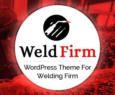 WeldFirm - Welding Company WordPress Theme