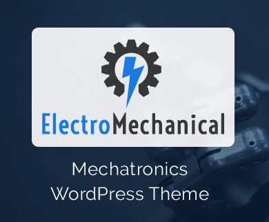 ElectroMechanical - Mechatronics WordPress Theme