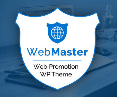 WebMaster - Web Promotion WordPress Theme