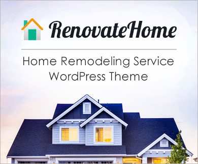 RenovateHome - House Remodeling Service WordPress Theme