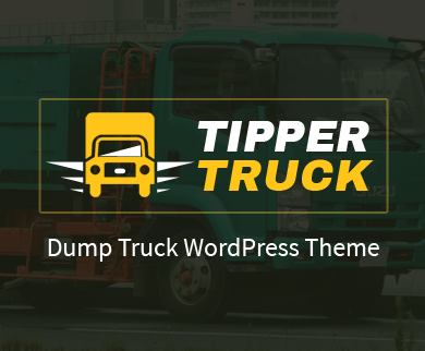 TipperTruck - Dump Truck & Trailer WordPress Theme