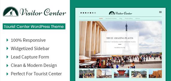 Tourist Center WordPress Theme