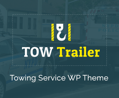 TowTrailer - Towing & Roadside Assistance Service WordPress Theme