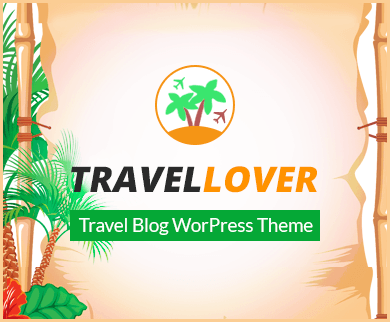 TravelLover - Travel Blog WordPress Theme