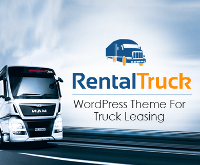RentalTruck - Truck Leasing WordPress Theme