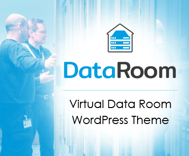 DataRoom - Virtual Data Room Corporate WordPress Theme