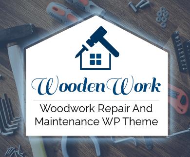 WoodenWork - Woodwork Repair And Maintenance WordPress Theme