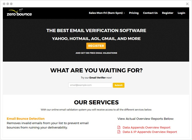 ZeroBounce-Email-Verification-Services