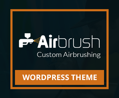 Airbrush - Custom Airbrushing WordPress Theme