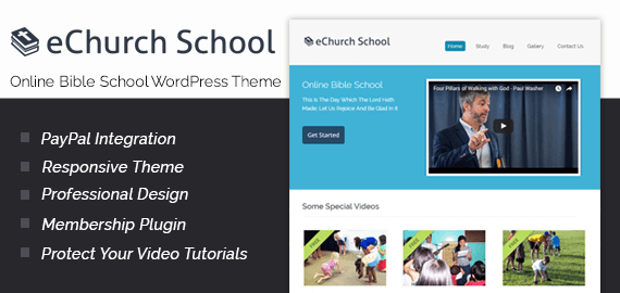 Online Bible School WordPress Theme