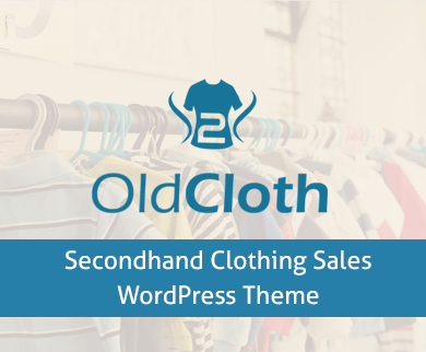 OldCloth - Second hand Clothing Sales WordPress Theme
