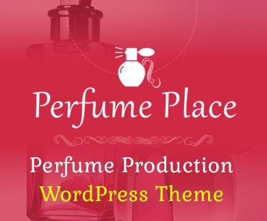 PerfumePlace - Perfume Production WordPress Theme